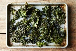 Smoky Paprika Kale Chips