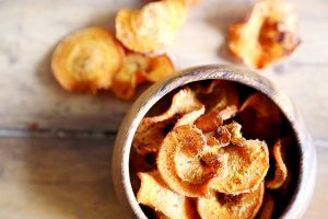 Sweet-Hot Pickled Carrots Chips